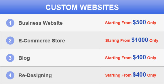 Your SEO Company Pricing Table