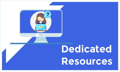 dedicated resources - SERVICES